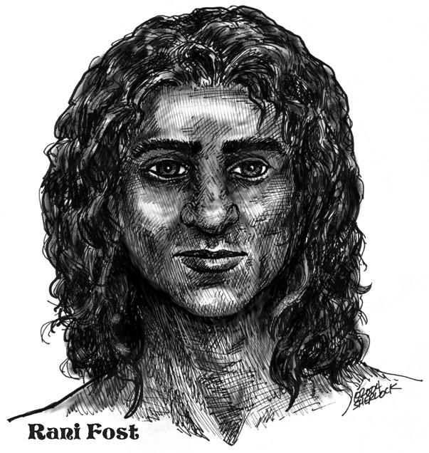 Rani Fost at age 15