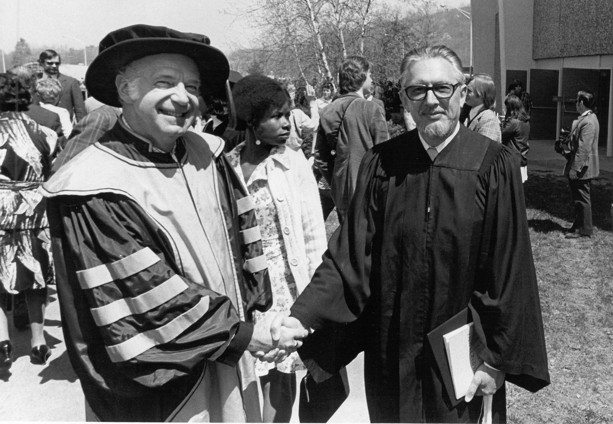 Frank at Syracuse University Commencement