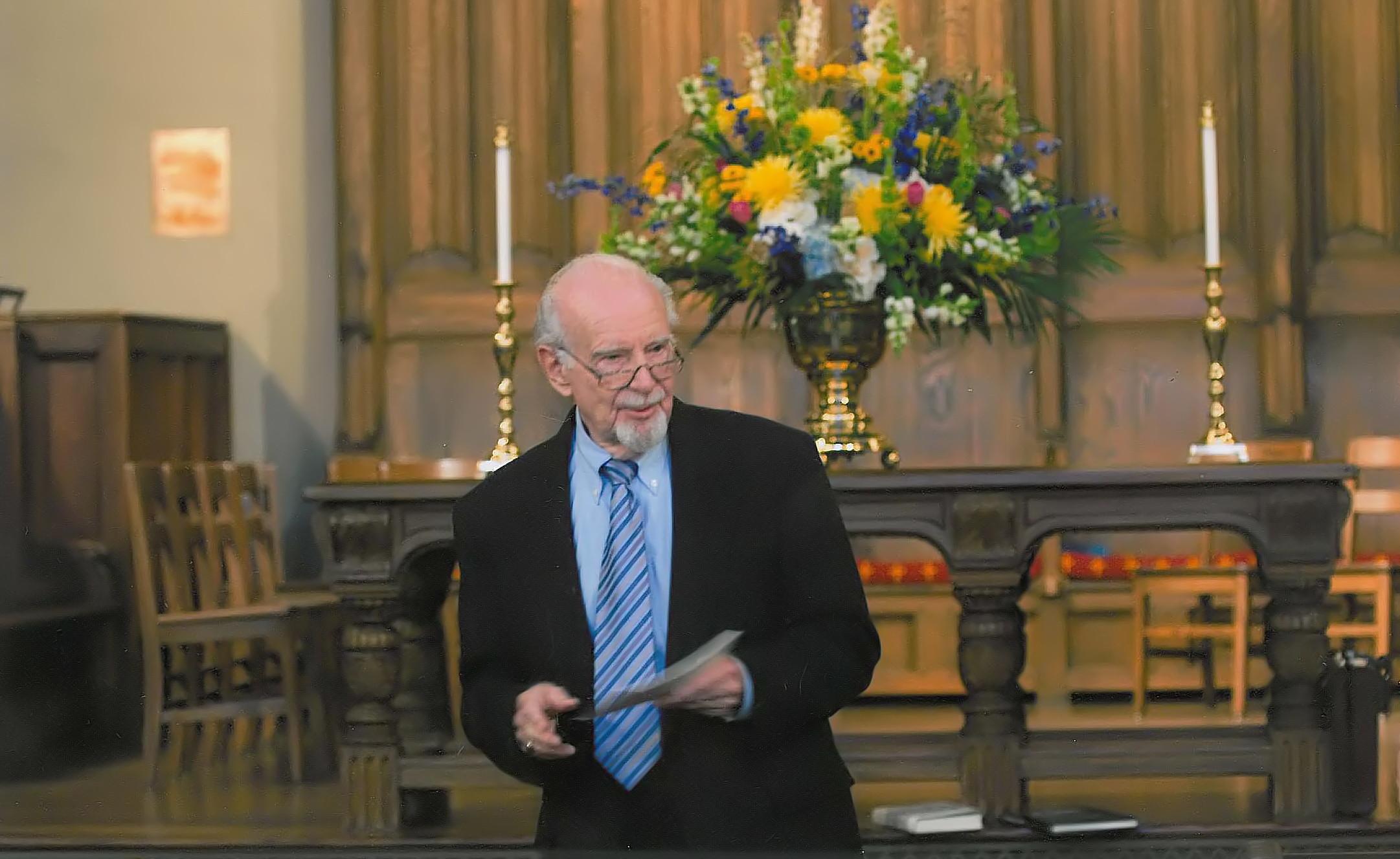 Frank Funk at First Presbyterian