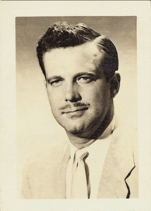 Frank Funk glamour shot circa 1950s