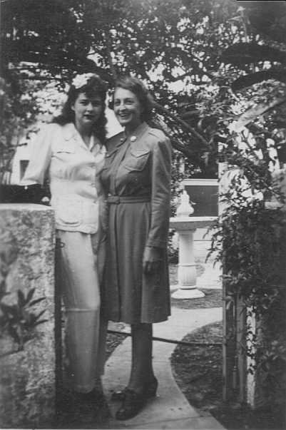 Flora M Johnson and Flora DuFour Johnson Ballantine--I think!
