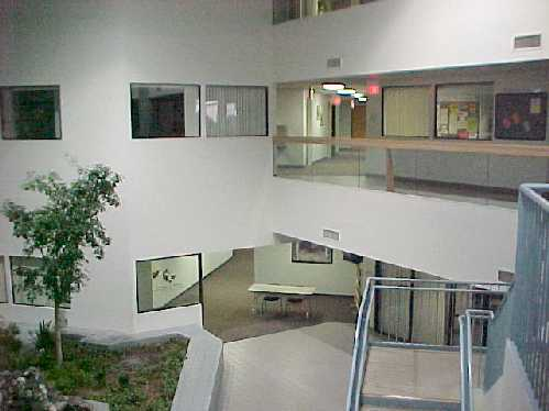 Upstairs at UoP