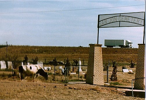 somewhere on old Route 66, 1986