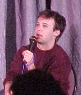 Danny Strong at Gallifrey One, 2004.