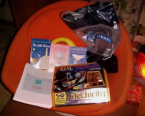Jacob's stuff, unwrapped