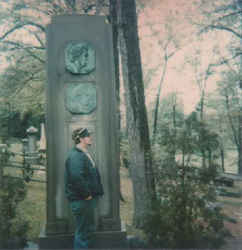 John at Clemens family monument