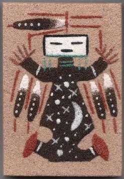 Navajo sand painting