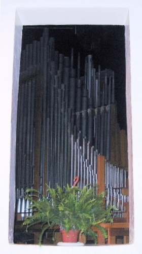 a window into the organ. (Right side)