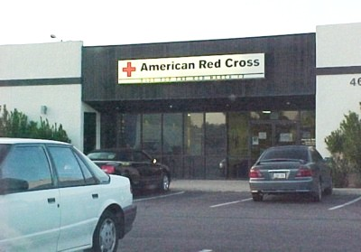 Red Cross office in Tucson