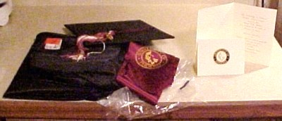 UoP regalia - two weeks and two days away