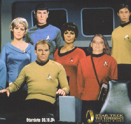 I was once in the Enterprise crew, thanks to a girl we call Mary Sue!