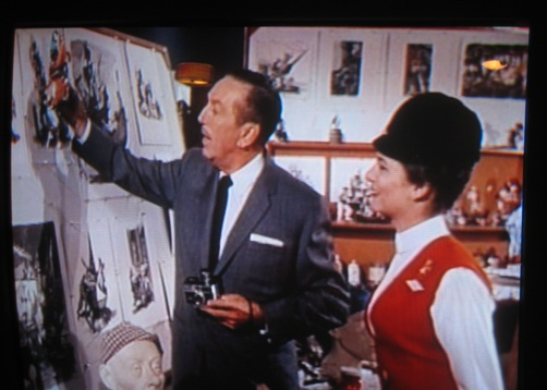 Walt shows Julie a minor character from Pirates of the Caribbean.
