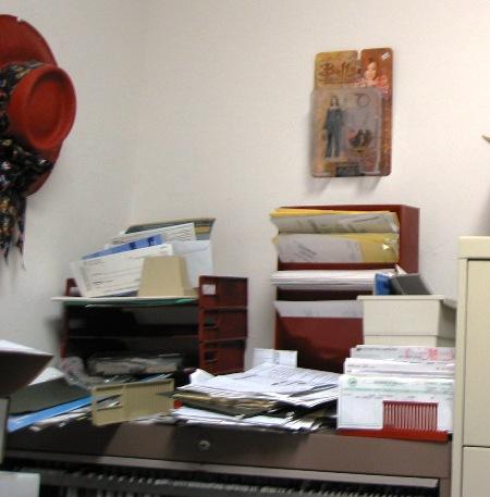 Before:  main filing cabinet, 3/18/05