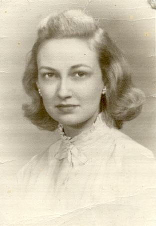 Ruth Anne Johnson, circa 1950