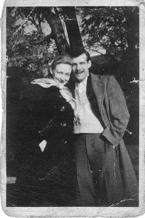 Frank and Ruth Anne Funk circa 1949