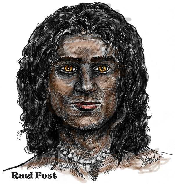 Rani Fost, alienated hero