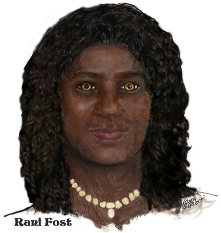 Rani Fost. Art by Sherlock, colorized and adapted by KFB.