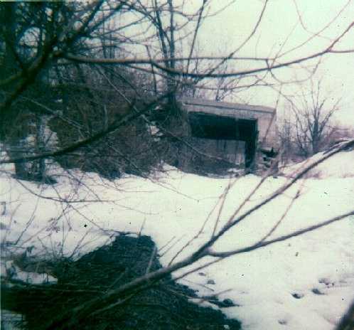 The railroad bridge off Cherry Manor.