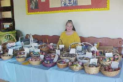 Mary sells eggstraordinary eggs